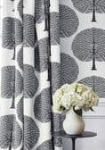 Thibaut Mulberry Tree Fabric in Navy Blue